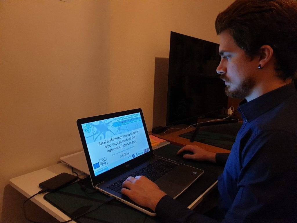 Nikolas Andreakos Presents Paper in 13th International Conference on Brain Informatics (BI 2020)