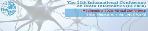 13th International Conference on Brain Informatics (BI 2020)