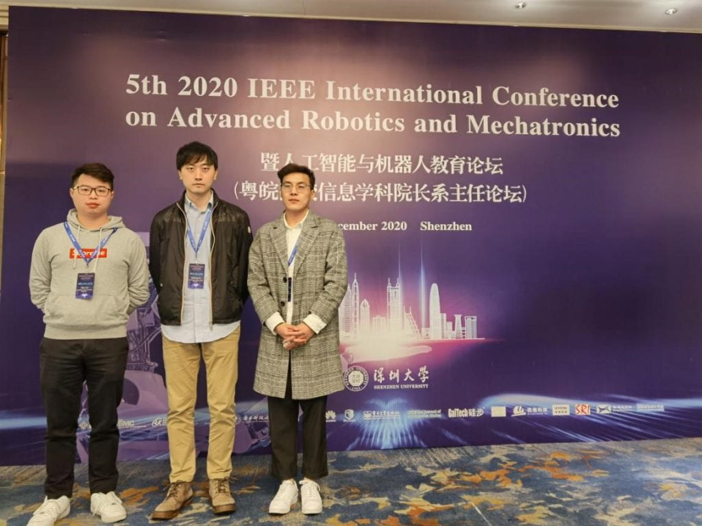 Tian Liu, Qinbing Fu, and Xuelong Sun attend IEEE ARM 2020 Conference