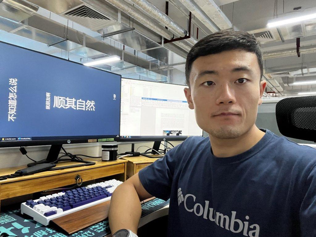 Researcher Mu Hua on secondment in Guangzhou