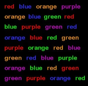 Post hypnotic suggestion and the Stroop effect | Timothy Hodgson