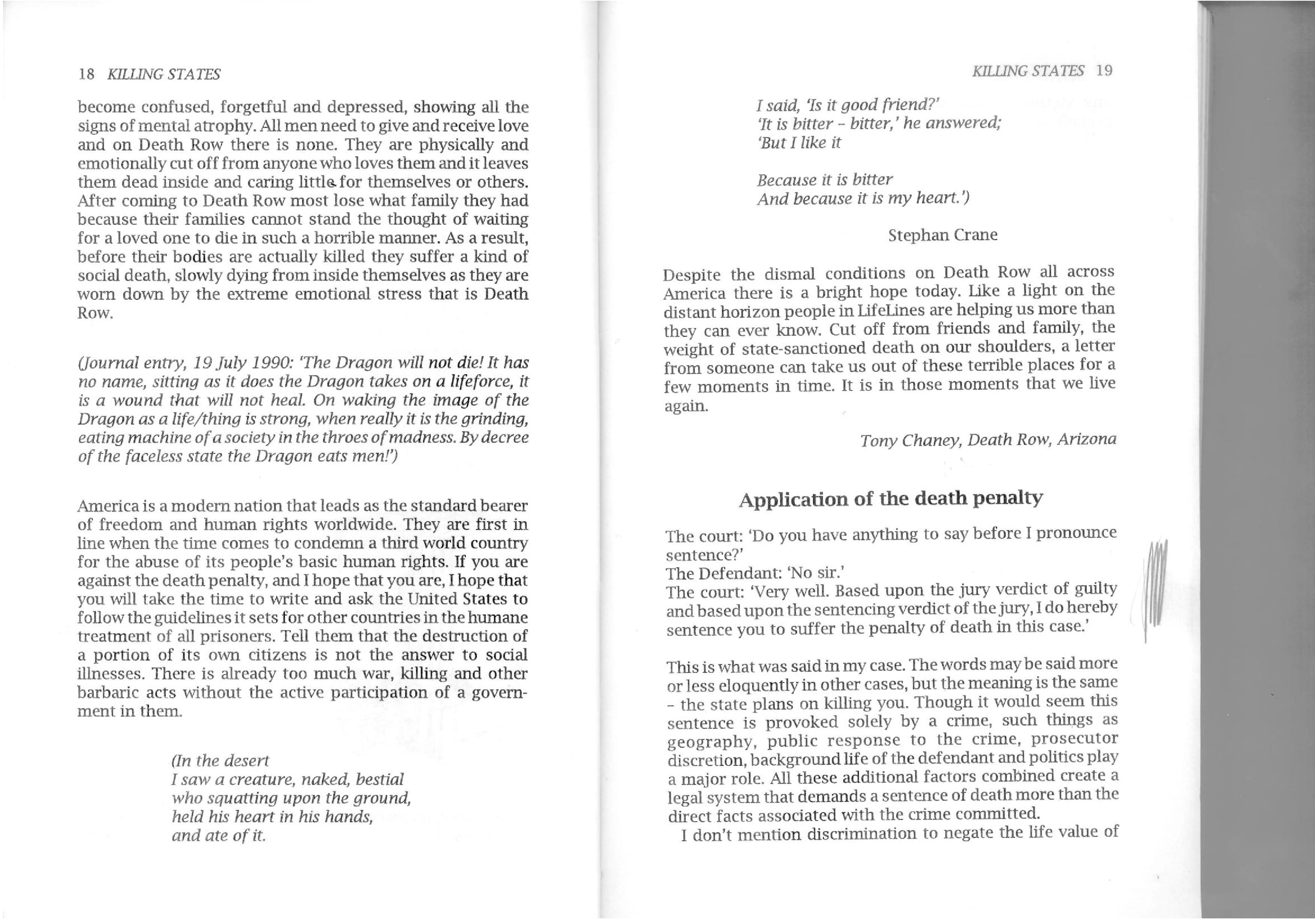 the verdict essay