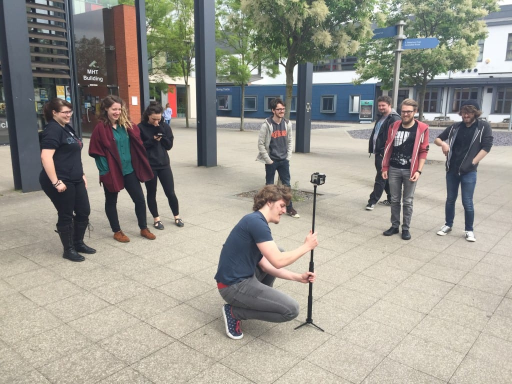 360 filming