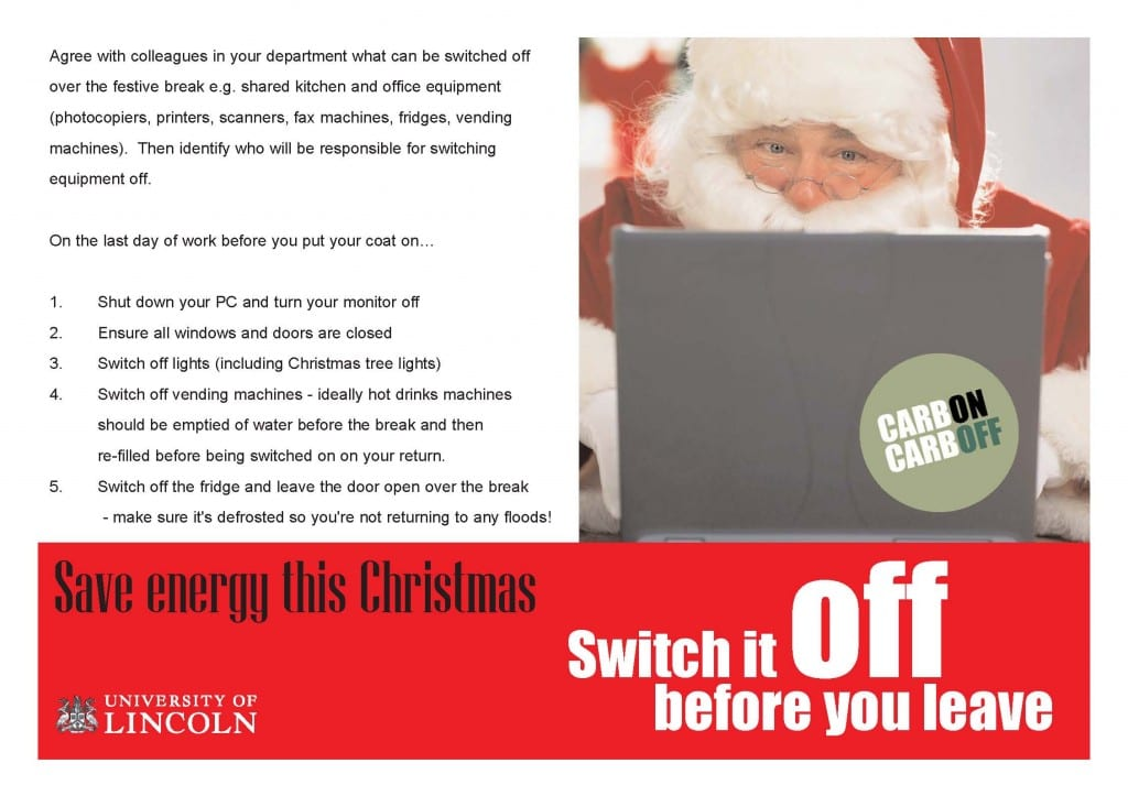 Christmas switch off - tips