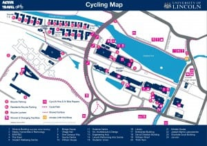 Cycling Map Image