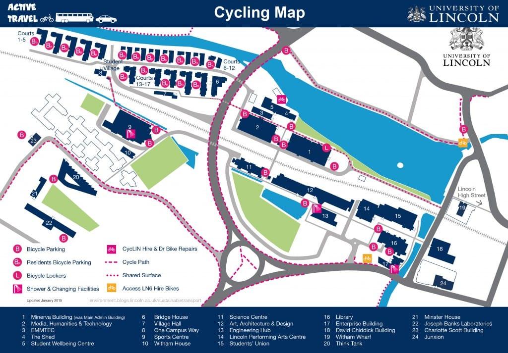 Campus Map 2015