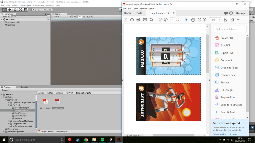 Print Pages Unity