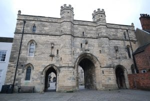 14th century Exchequer Gate