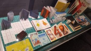 Selection of 'book art'