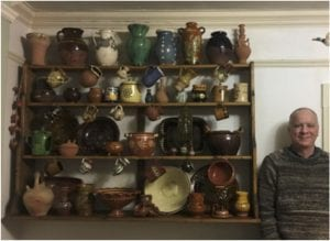 Andrew MacDonald in the Pot Shop