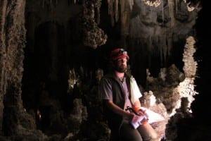 Sean, Park Ranger at Carlsbad Caverns
