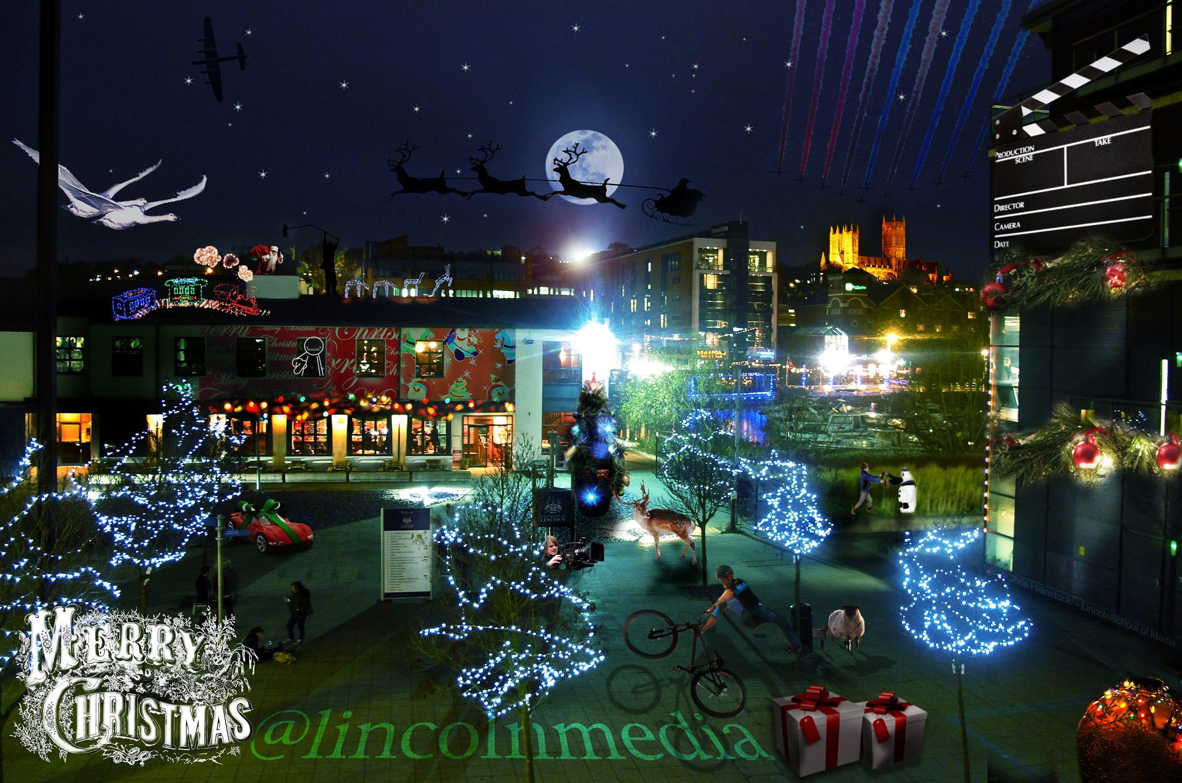 Christmas Greetings To All Our Alumni Lincoln School Of Film