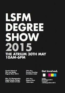 LSFM-DegreeShow2015-Poster
