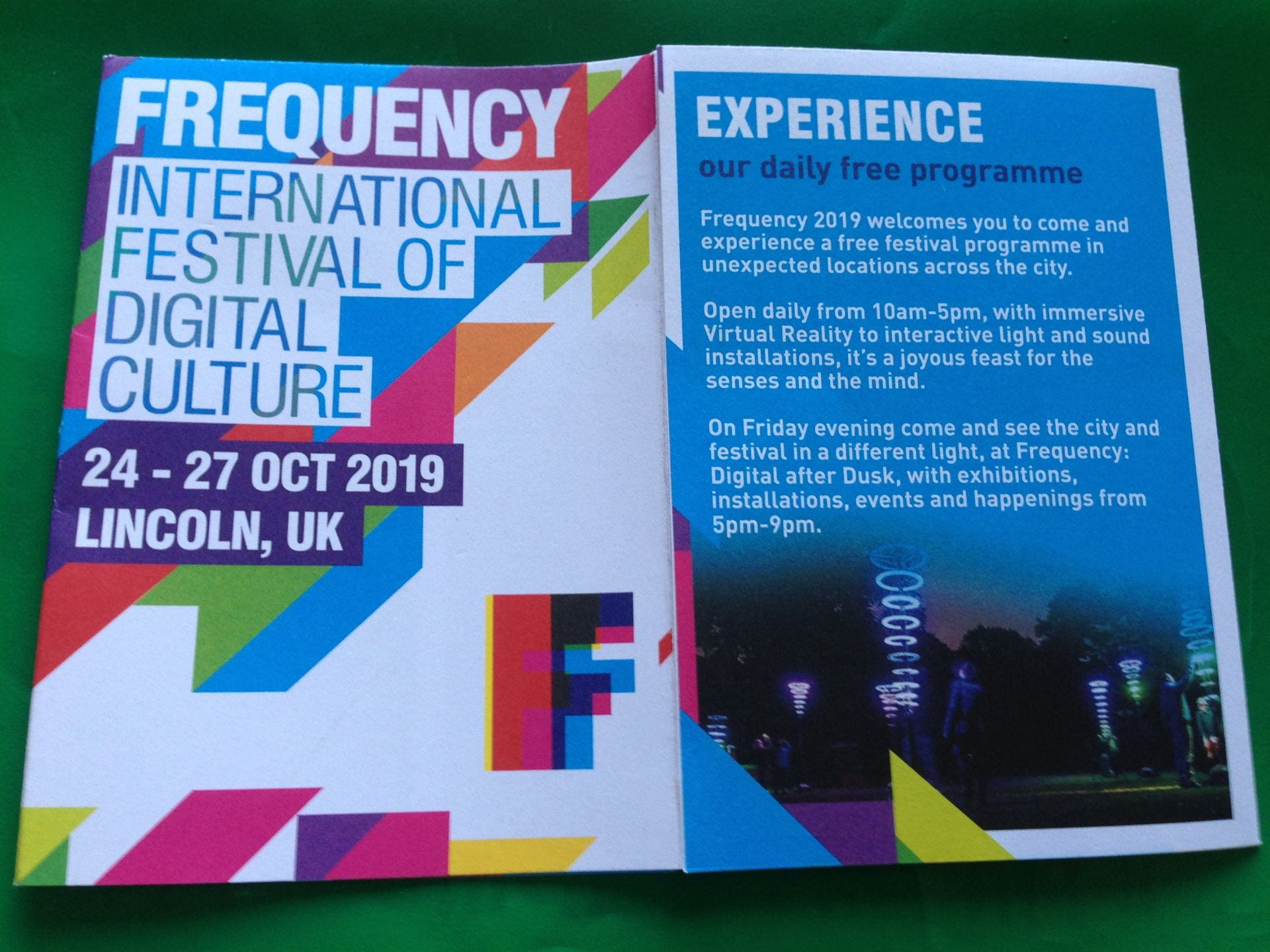 Frequency programme