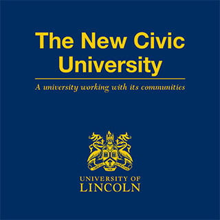 New civic university publication cover.