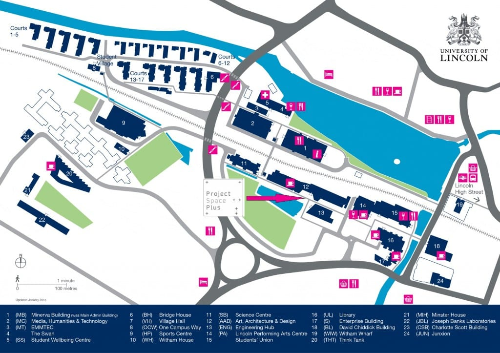 Campus-Map with PSP