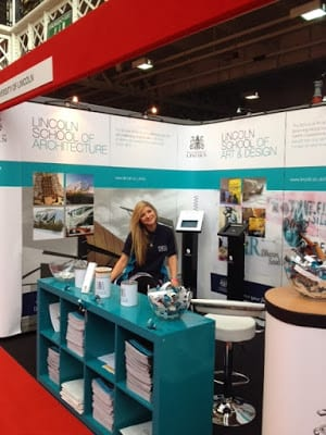 Thanks To All Of You In London And The South Who Visited Our Stand At UCAS Design Your Future Olympia Last Week