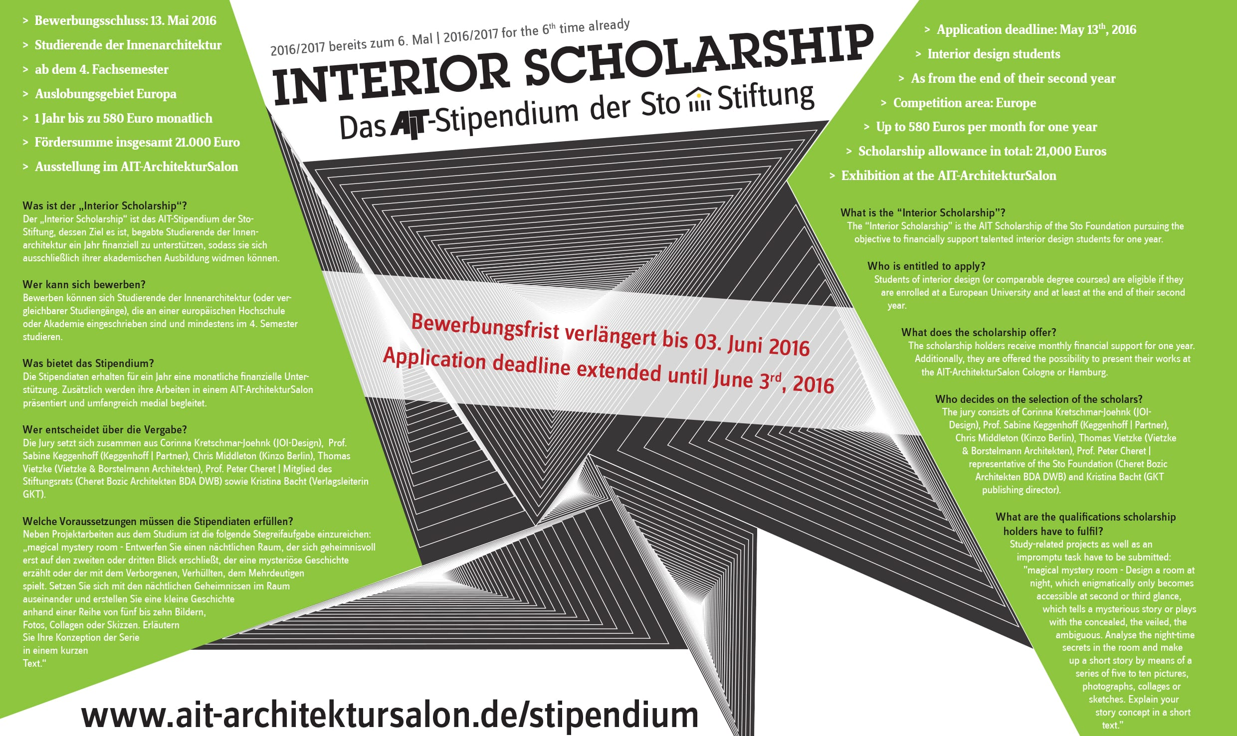 Interior Architecture Scholarship 2016 School Of Architecture Design
