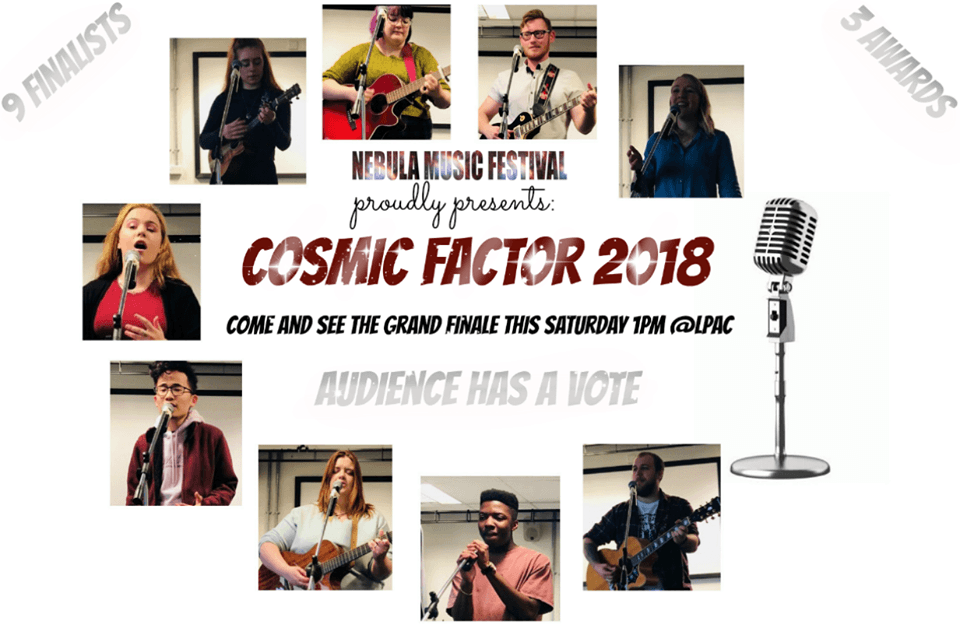 Singing Competition Finalist poster