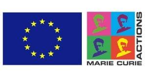 Logo Marie Curie und EU