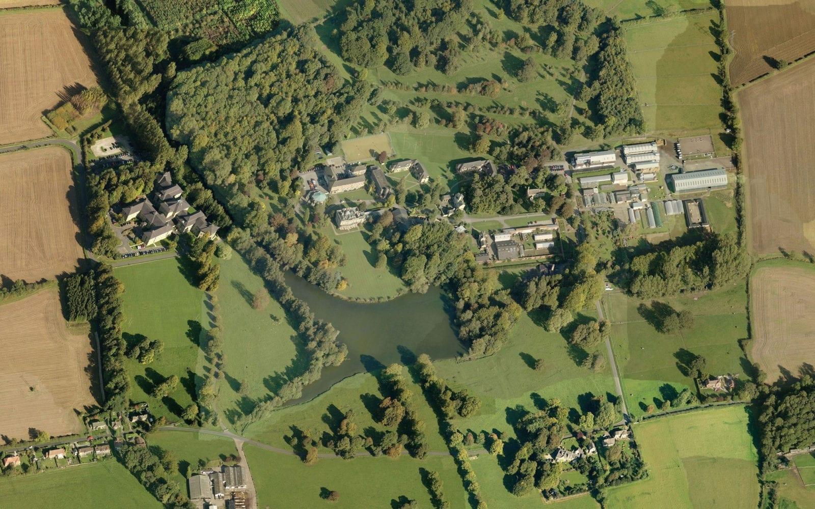 Riseholm Aerial View