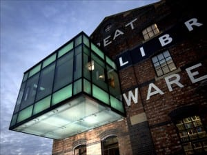The GCW Library is on Brayford Wharf East