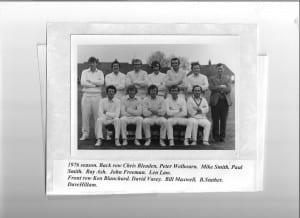 Bassingham Cricket Club 1976 001