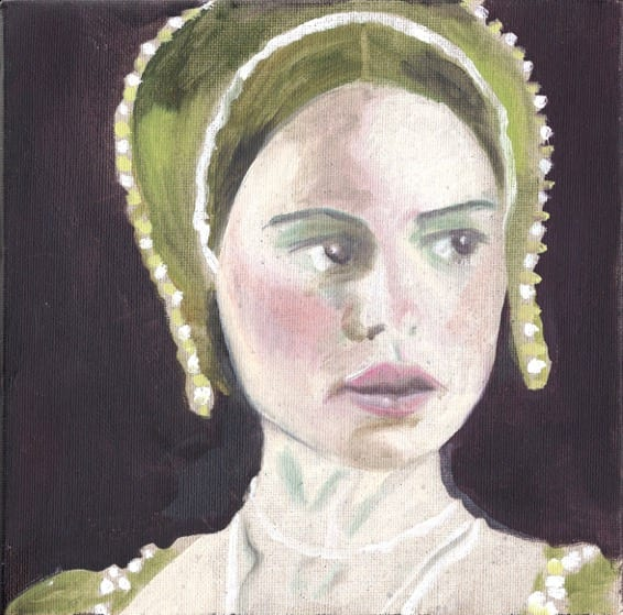 Cathy Lomax Mock Tudor-alt-(Anne Boleyn after Natalie Portman)