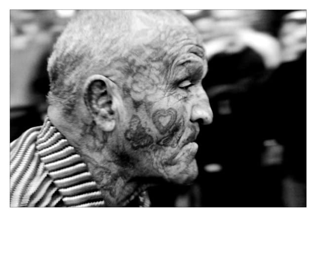 Phil COSKER The Tattooed Man - Jacob van Dyne 1966