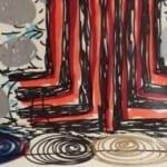 Phillip Allen, Framed Drawing Shown at Xavier Hufkins Gallery 2005 35cmx26cm  felt pen on ivory paper
