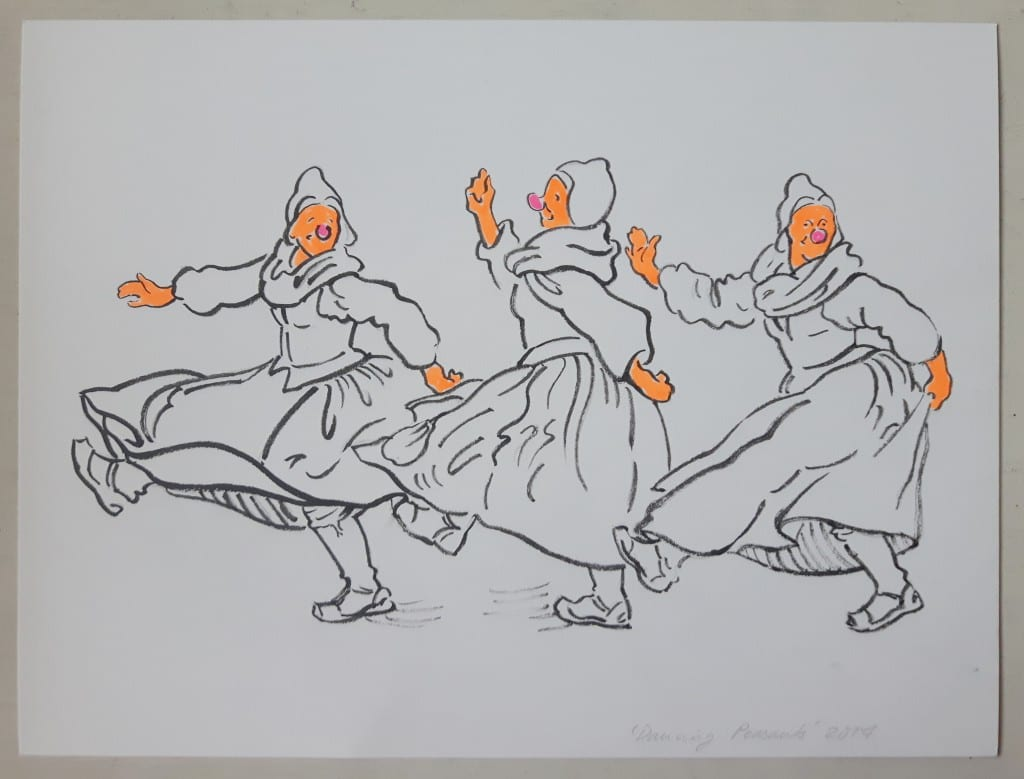 Sigrid Holmwood Peasants Dancing