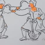 Sigrid Holmwood Peasants fighting with sickles 2