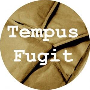 tempus fugit circle