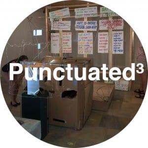 punctuated