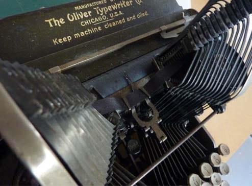 1903 Oliver Typewriter