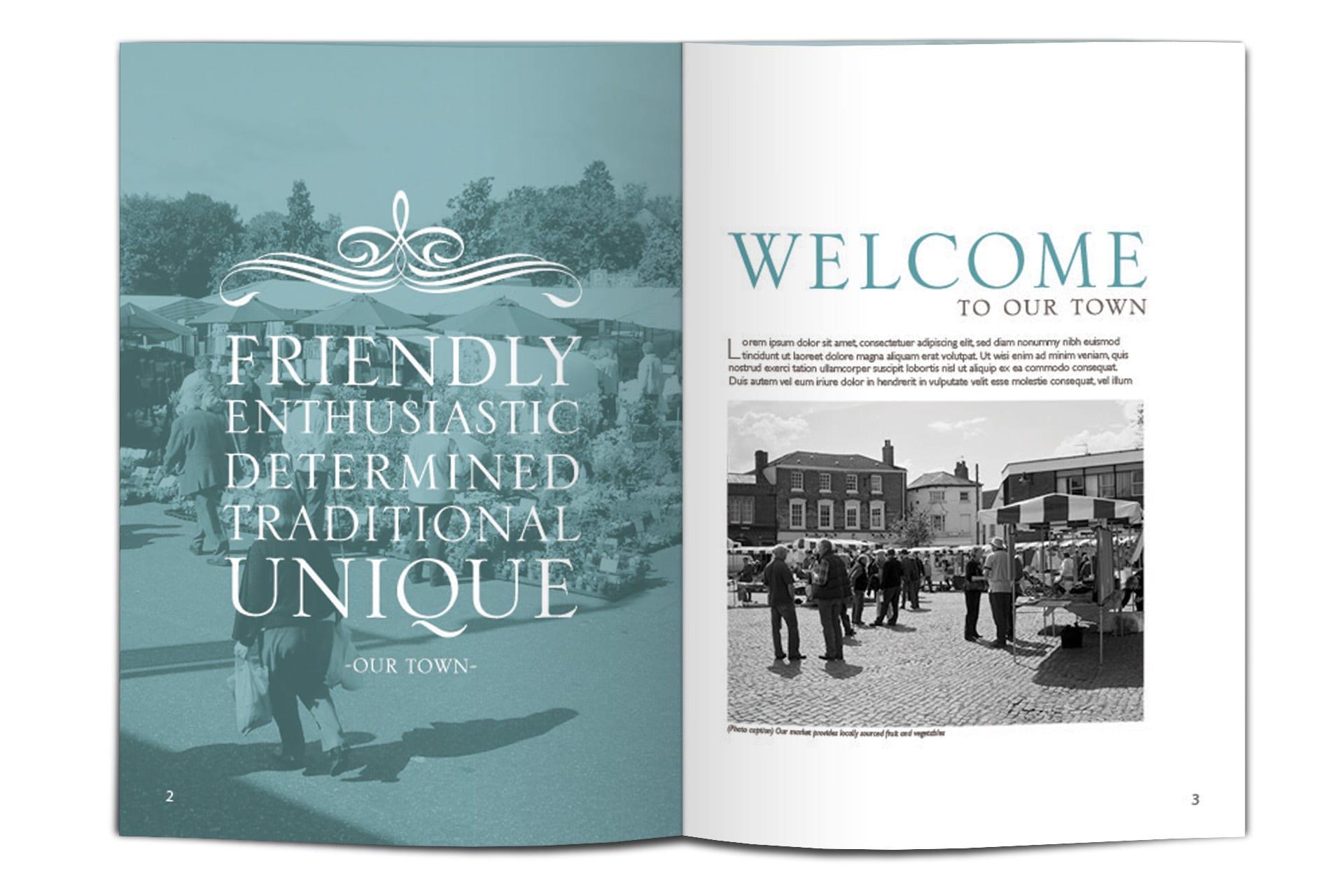 Brochure spread 1