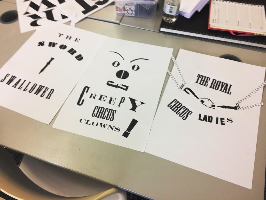 Circus Type Posters: 1