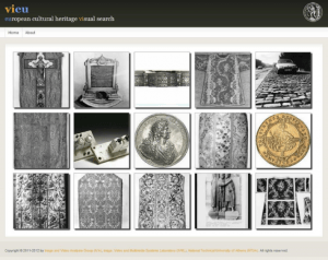 Visual search of European cultural  heritage (view.image.ntua.gr)