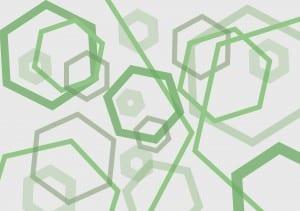 Green Pentagons