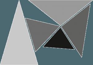 Grey Random Triangles