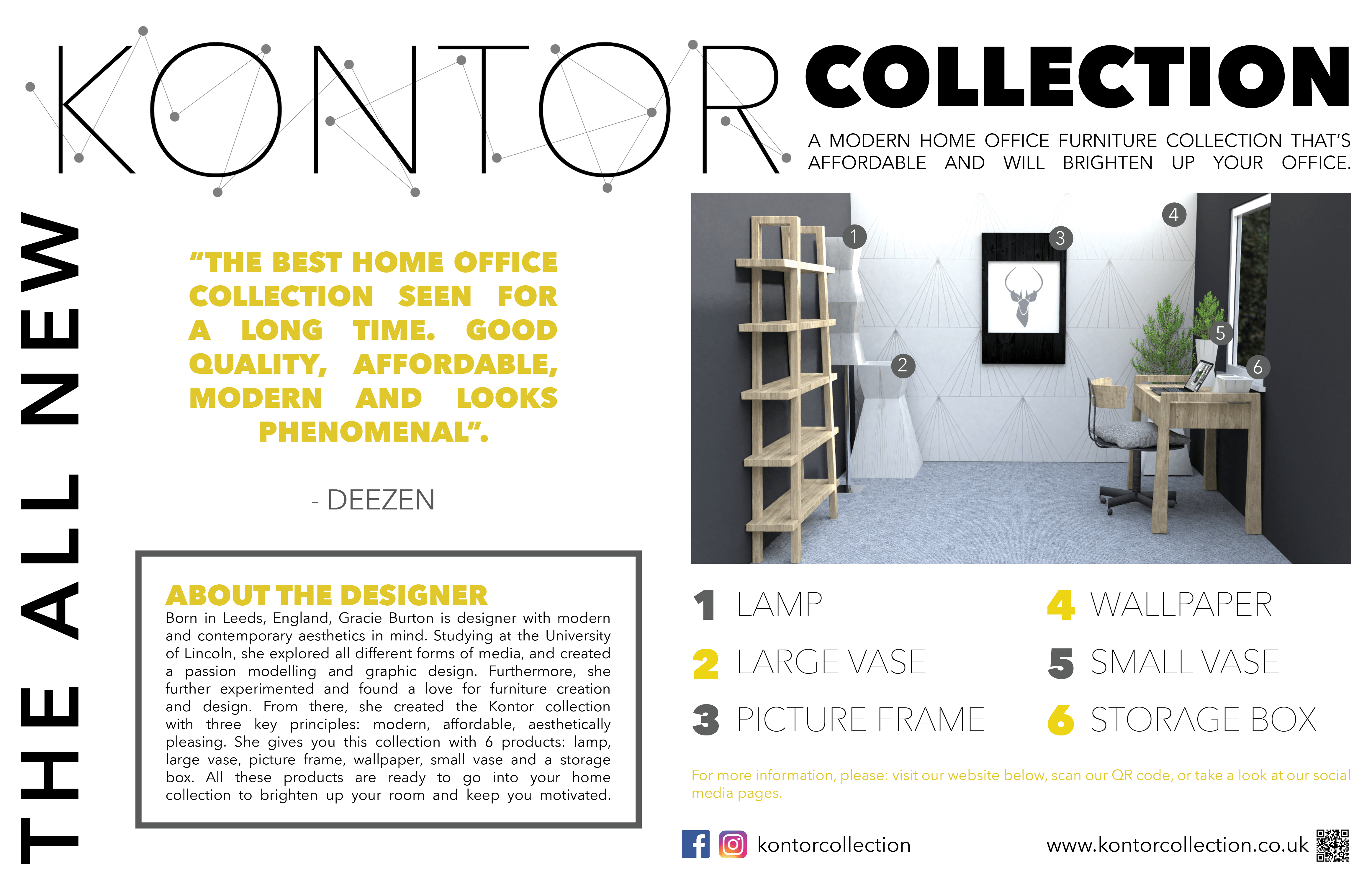 Double Page Magazine Spread Kontor
