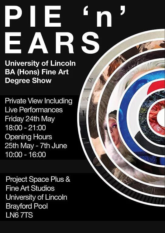 Pie N Ears Poster