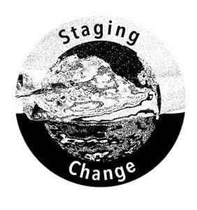 The Staging Change logo.