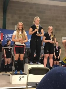 British Uni Champs Podium