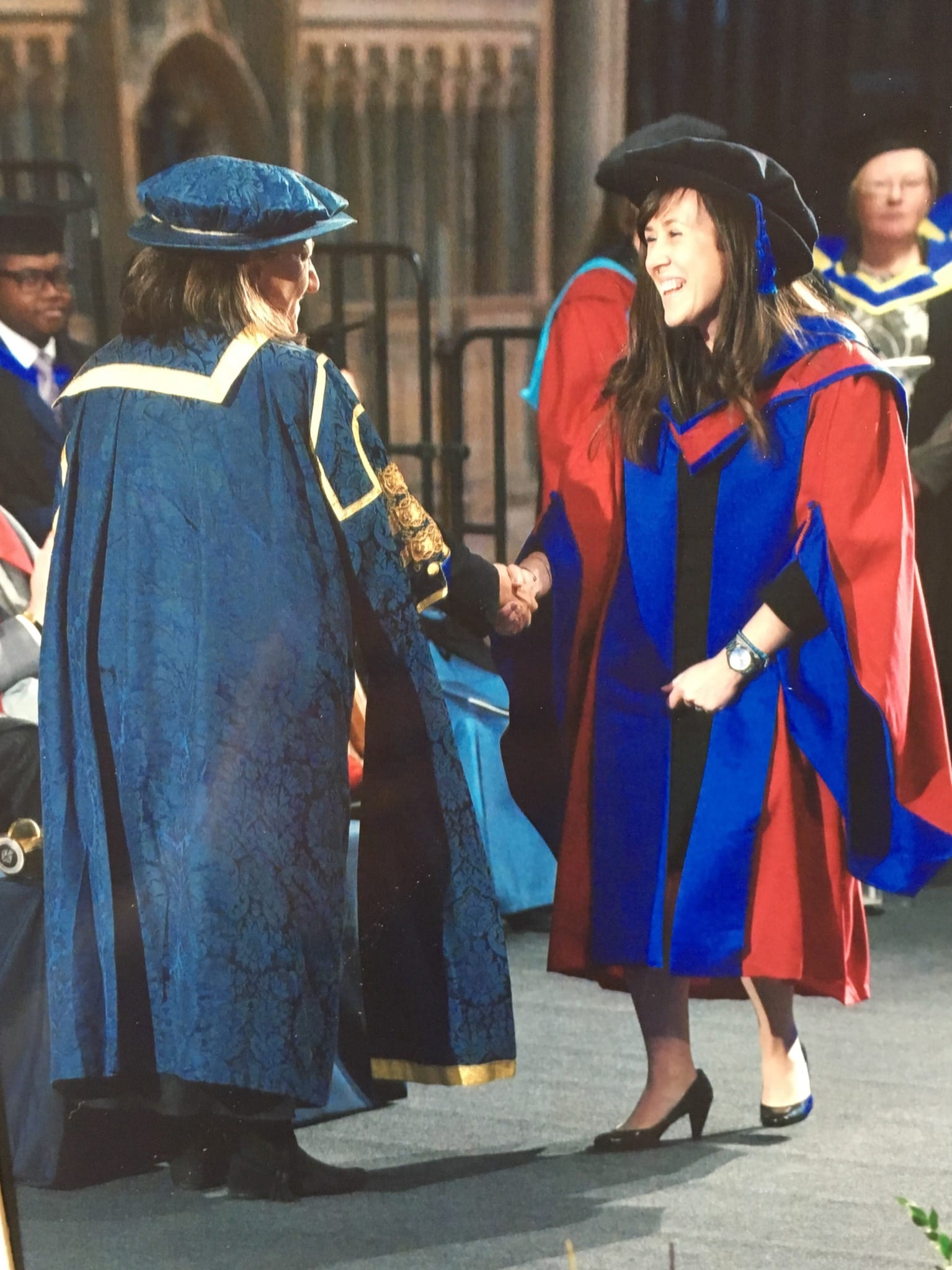 Hannah Henderson receives PhD for studies on exercise referral schemes