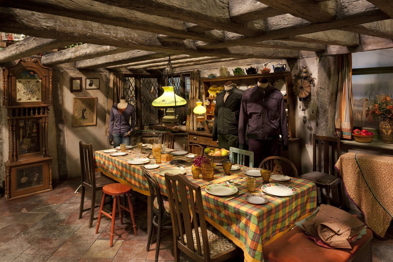 Places to visit harry potter studios tour inside film for Set of kitchen