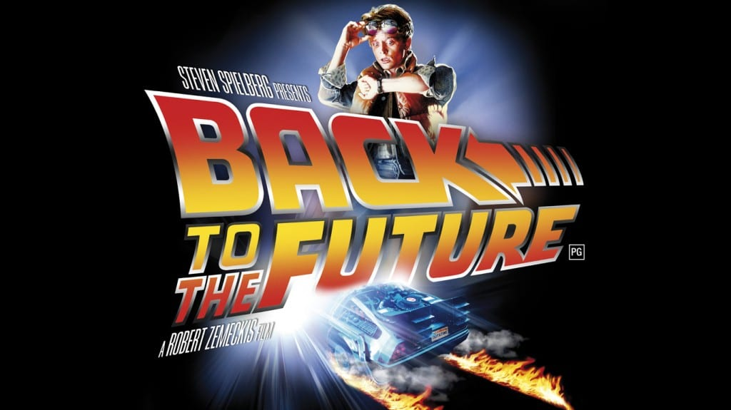 The poster image for the 1989 Back to the Future film
