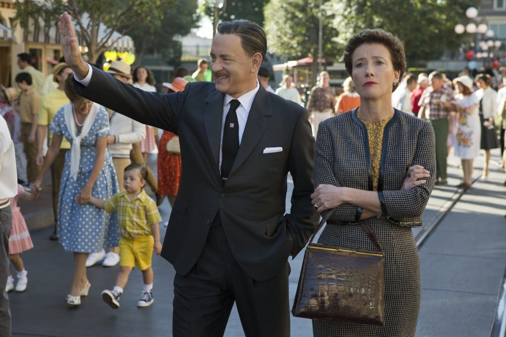 Tom Hanks and Emma Thompson as their characters, Walt Disney and P. L. Travers