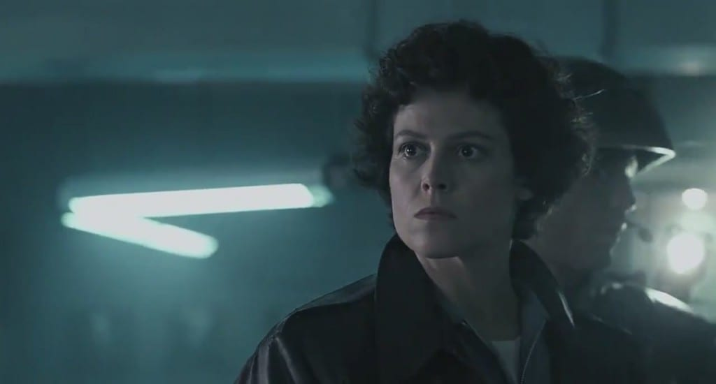 Ellen Ripley, played by Sigourney Weaver.