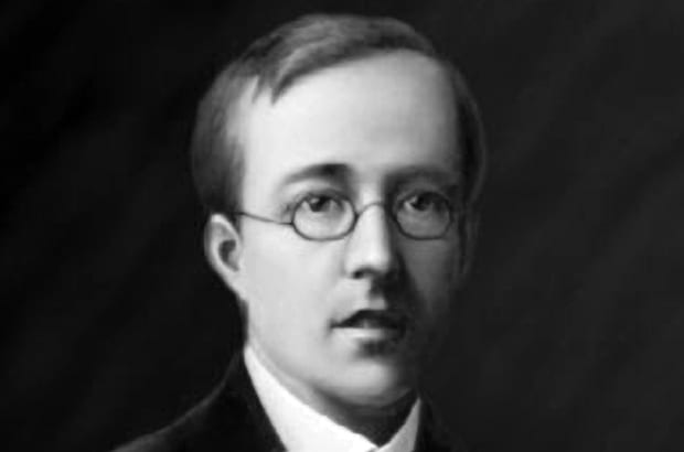Pictured is the composer Gustav Holst